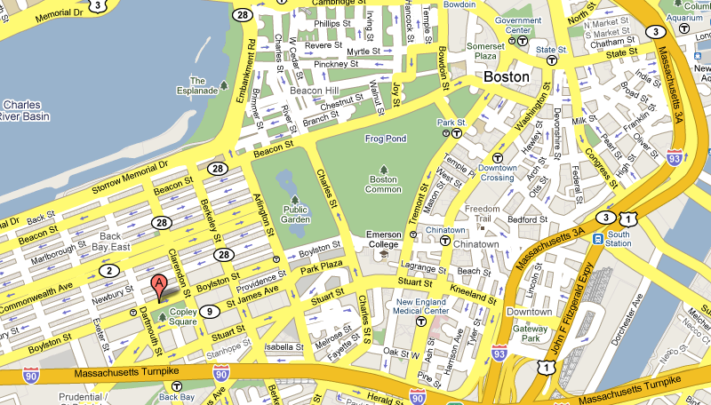 Street Map Of Boston Massachusetts Pictures To Pin On